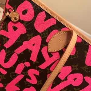 Neverfull Stephen Sprouse Graffiti bag